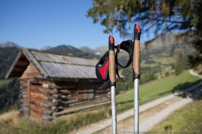 Nordic walking on the sunny plateau | © Serfaus-Fiss-Ladis Marketing GmbH – Andreas Kirschner
